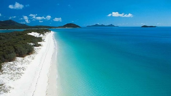 Whitehaven Beach, Whitsunday Iskand