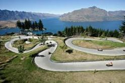 The Luge in Rotorua, North Island