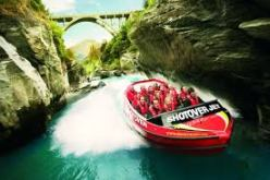 Shotover Jet. A river cruise it's not!
